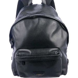 Givenchy Large Leather Pebbled Backpack